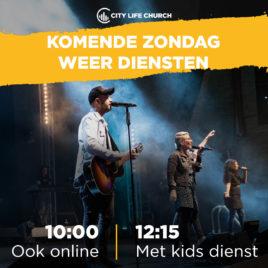 CLC Den Haag: dienst op zondag 2 augustus